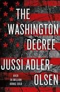 Paperback Jussi Adler-Olsen the Washington Decree