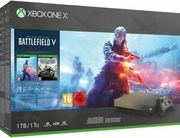 Xbox One X 1TB Gold Rush Special Edition Console Battlefield v Bundle £359.99