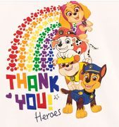Cheap Paw Patrol T-Shirt - NHS Heroes Only £9.95