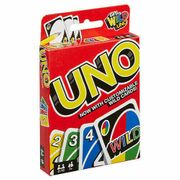 Wild Uno Family Card Game 112 Cards