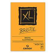 Canson XL Bristol Pad DIN A4 Sketch and Sketch Pad 50 Sheets