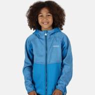 Regatta - Blue 'Bracknell Ii' Stretch Hooded Softshell Jacket