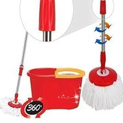 360 Degree Spinning Mop Bucket + Two Mop Heads - £14.96 Delivered