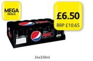 Pepsi Max Original 24x330ml