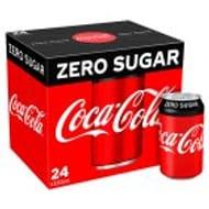 Coke Zero Sugar 24x330ml/ Diet Coke 24x330ml