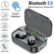 TWS Wireless Earbuds TOUCH CONTROL In-Ear Bluetooth Headphones and Charging Case