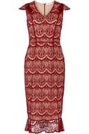 Belfield v Neck Lace Dress Size 10 &12 Only