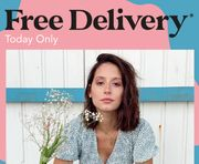 Free Delivery at Blue Vanilla - Today Only