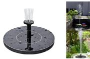 Mini Solar Powered Water Fountain - £17.98 Delivered