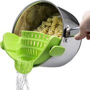 Silicone Kitchen Clip-on Strainer Home Colander Tool Barbecue Tool Sets
