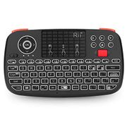 Wireless Multimedia Keyboard with Touchpad Mouse