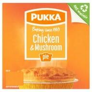 Pukka Pies Chicken & Mushroom Pie 212g (Serves 1)