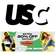 USC - Extra 20% off Outlet (With Code)