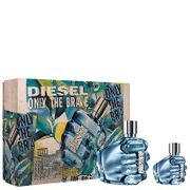*HALF PRICE* Diesel Only the Brave Eau De Toilette Spray 75ml Gift Set