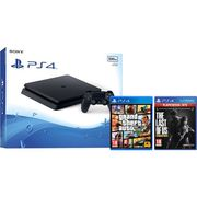 PlayStation 4 500GB with the Last of Us and GTA v (Disc) - Black Only £249