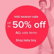 50% off All Sale Items in the Monsoon Sale!