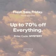 MISSPAP - 50% Off Everything + Up To Extra 20% Mystery Discount
