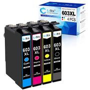 Lightning Deal Compatible Epson 603XL 603 XL Ink Cartridges for Epson Models
