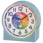 Seiko Children Time Teaching Alarm Clock - Available in PINK and BLUE