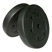 SOLD out EVERYWHERE Opti Vinyl Weight Plates - 2 X 10kg