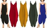 Women's Boho-Style Baggy Jumpsuit