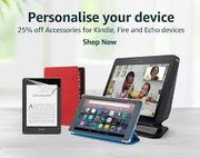 25% off Kindle, Fire and Echo Accessories