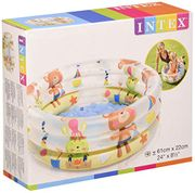 Intex Inflatable Swimming Pool with Inflatable Base