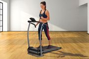 Body Fit 500W Electric Folding Treadmill - Only £214.99!