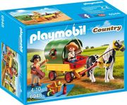 Playmobil Country 6948 Picnic with Pony Wagon Toy