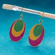 Bright Abstraction Earrings