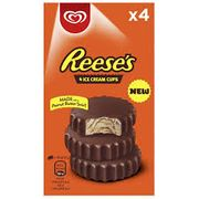 Reese's Peanut Butter Swirl Ice Cream Cups 4 Pack
