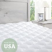 Price Drop! Pillowtop Mattress Topper with Fitted Skirt-Extra Plush(200 X 200cm)