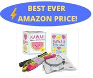 Kawaii Cross-Stitch Kit: Super-Cute! (Rp Minis) Paperback