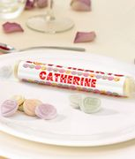 Personalised Giant Love Hearts Place Name Settings