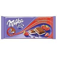 Milka Strawberry Yoghurt Chocolate Bar 100g X 22 Bulk Case