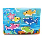 Best Price! Baby Shark Chunky Wood Sound Puzzle