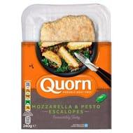 Quorn Vegetarian Mozzarella & Pesto Escalope X2 240g