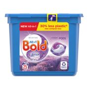 Bold All-in-1 PodsWashing Liquid Capsules Lavender & Camomile 25 Washes