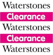 Waterstones - BOOK CLEARANCE SALE - from 25p!