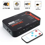 DEAL STACK - HDMI Switch 4K (Black)