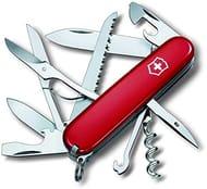 Victorinox Huntsman Swiss Army Pen Knife in Red