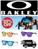 Oakley Sunglasses - 20% OFF
