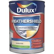 2 for £45 Dulux Weathershield All Weather Smooth Masonry Paint