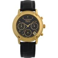Krug-Baumen Ladies Principle Diamond Black Chronograph Watch 150573DL