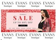EVANS - Plus Size Clothing SUMMER SALE - up to 60% Off