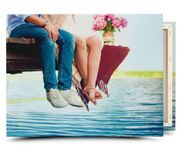 30cm X 20cm Personalised Canvas - £5 Delivered with Code