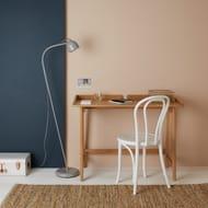 Habitat Sale! Altea Charcoal Grey Metal Floor Lamp