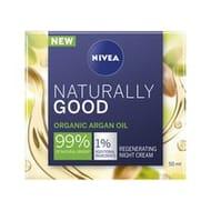 Nivea Naturally Good Argan Oil Regenerating Night Time Cream *NOW 2 FOR £6
