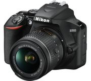 NIKON D3500 DSLR Camera with AF-P DX NIKKOR 18-55 Mm f/3.5-5.6G VR Lens