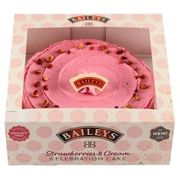 Baileys Strawberry & Cream Celebration Cake